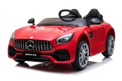 Mercedes AMG GT 12V Elettrico Con Licenza a 2 Posti Rosso