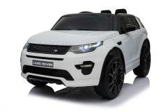 Articolo graduato - 12V Land Rover Discovery Bianco con licenza Girainauto