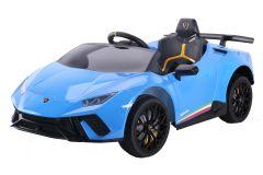 Lamborghini Huracan con licenza 12V Blu