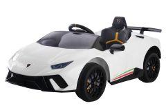 Lamborghini Huracan con licenza 12V Bianco