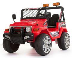 4x4 Rossa - 12V A Due Posti Elettrico Girainauto Per Bambini