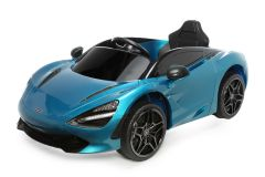 12V Licensed McLaren 720S Ride On Car Blue
