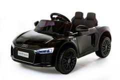 12V Audi R8 Spyder con Licenza Nero