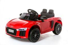 12V Audi R8 Spyder con Licenza Rosso