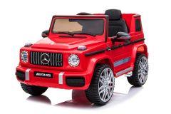 12V Mercedes G63 Rosso con Licenza