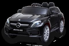 12V Mercedes GLA Nero con Licenza