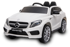 12V Mercedes GLA Bianco con Licenza