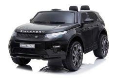 Articolo graduato - 12V Land Rover Discovery Nero con licenza Girainauto