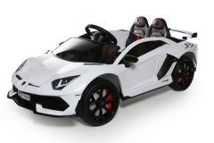 Lamborghini 12V con Licenza Bianco 2 posti per bambini