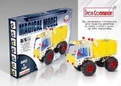 Autocarro con Cassone Ribaltabile di Metallo Fai Da Te 179 pezzi per Bambini