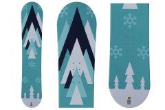 Tigris Junior Snowboard Unisex e Attacchi 110cm