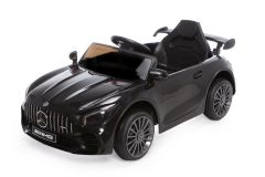 12V Mercedes GTR con Licenza Nero
