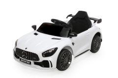 12V Mercedes GTR con Licenza Bianco