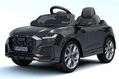 12V Audi Q8 RS con Licenza Nero