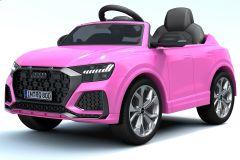 12V Audi Q8 RS con Licenza Rosa