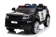 Auto della Polizia 12V elettrica per bambini Nero
