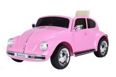 12V Maggiolino VW con Licenza Rosa