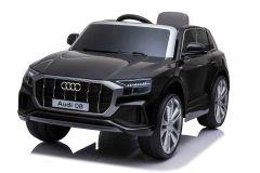 12V Audi Q8 con Licenza Nero