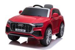 12V Audi Q8 con Licenza Rosso