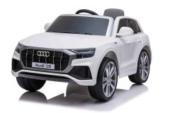 12V Audi Q8 con Licenza Bianco
