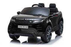 12V Range Rover Evoque con Licenza Nero