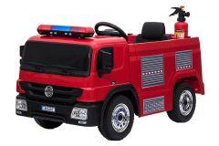 Auto della Polizia 12V elettrica per bambini Bianco