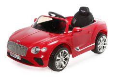12V Bentley Continental GT con Licenza Rosso